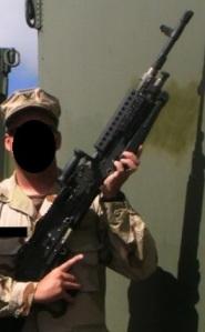 US Navy M240B