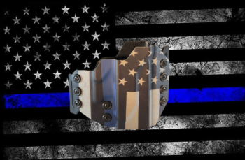 Image result for Core Holster in Thin Blue Line Pattern